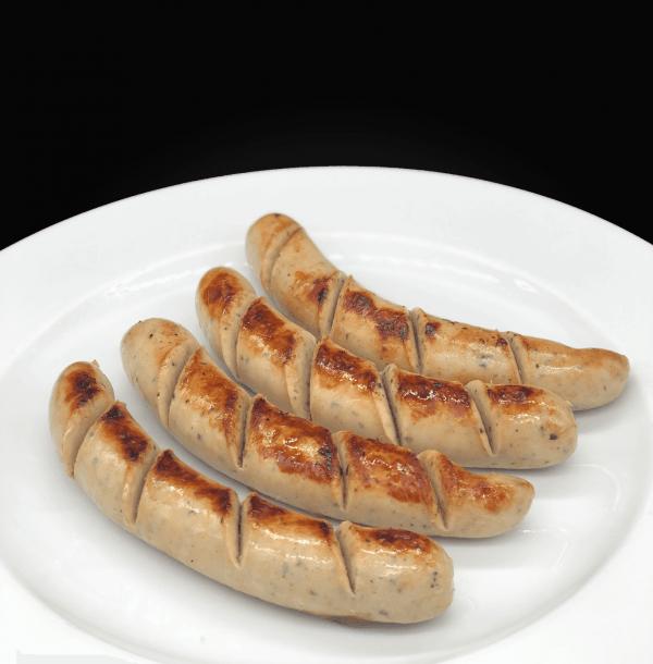 gesunde extra sattmacher wildkräuter/bärlauch bratwurst