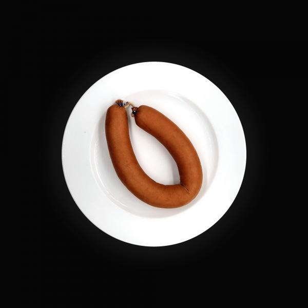 Proteinreiche Extra Fleischwurst im Ring