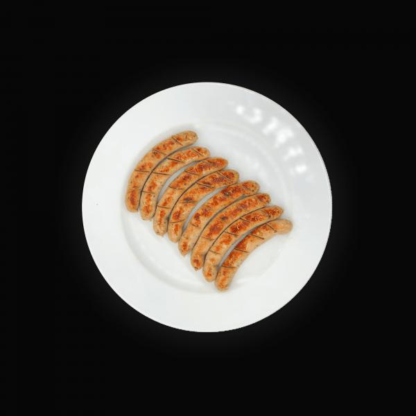 Proteinreiche Nürnberger-Bratwürstchen