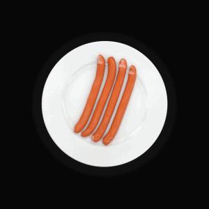 Gesunde Wiener Wurst zum Abnehmen