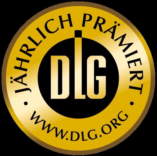 DLG Gold Sticker Gesunde Bratwurst