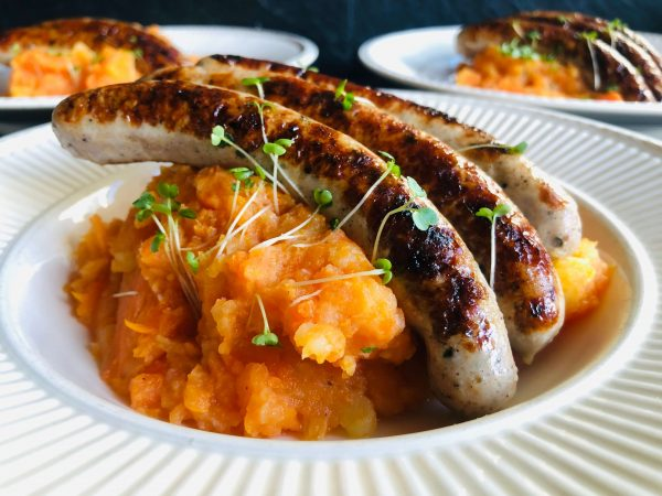 Karottenstampf mit Nürnbergern ExtraRezepte