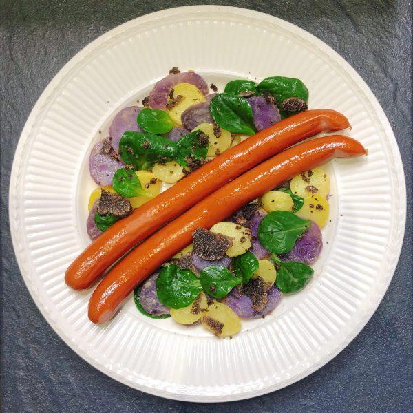 Trüffel Rezept mit Wiener Wurst