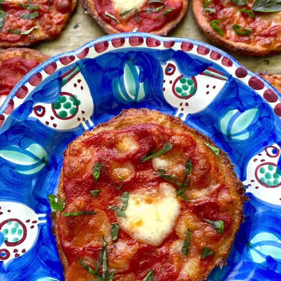 Gesunde Low Fat Pizza ballaststoffe